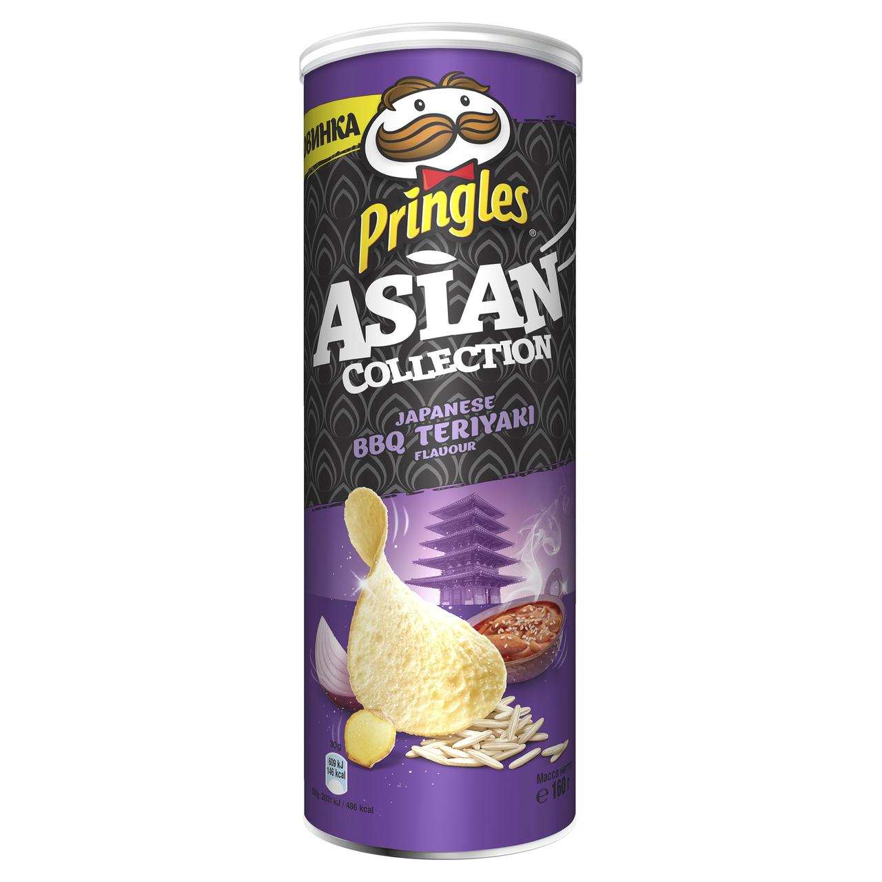 Чіпси Pringles Asian collection Japanese BBQ Teriyaki 160г