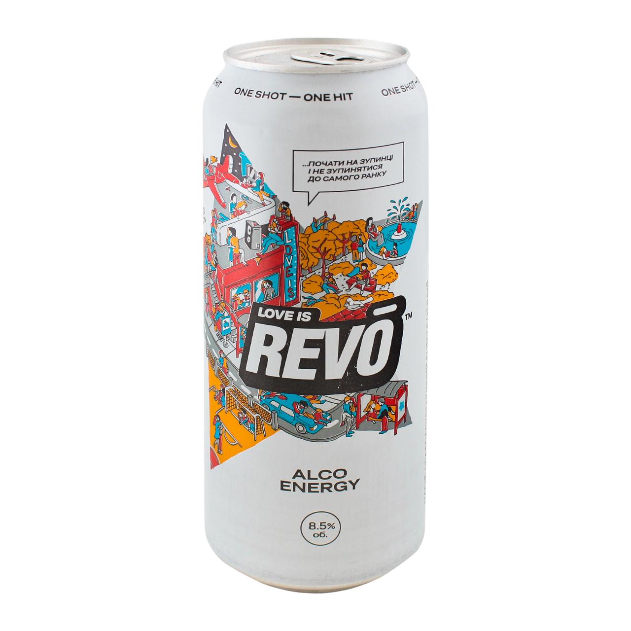 Напій с/а Revo Лімітована версія енергетичний 8.5% 0.5л