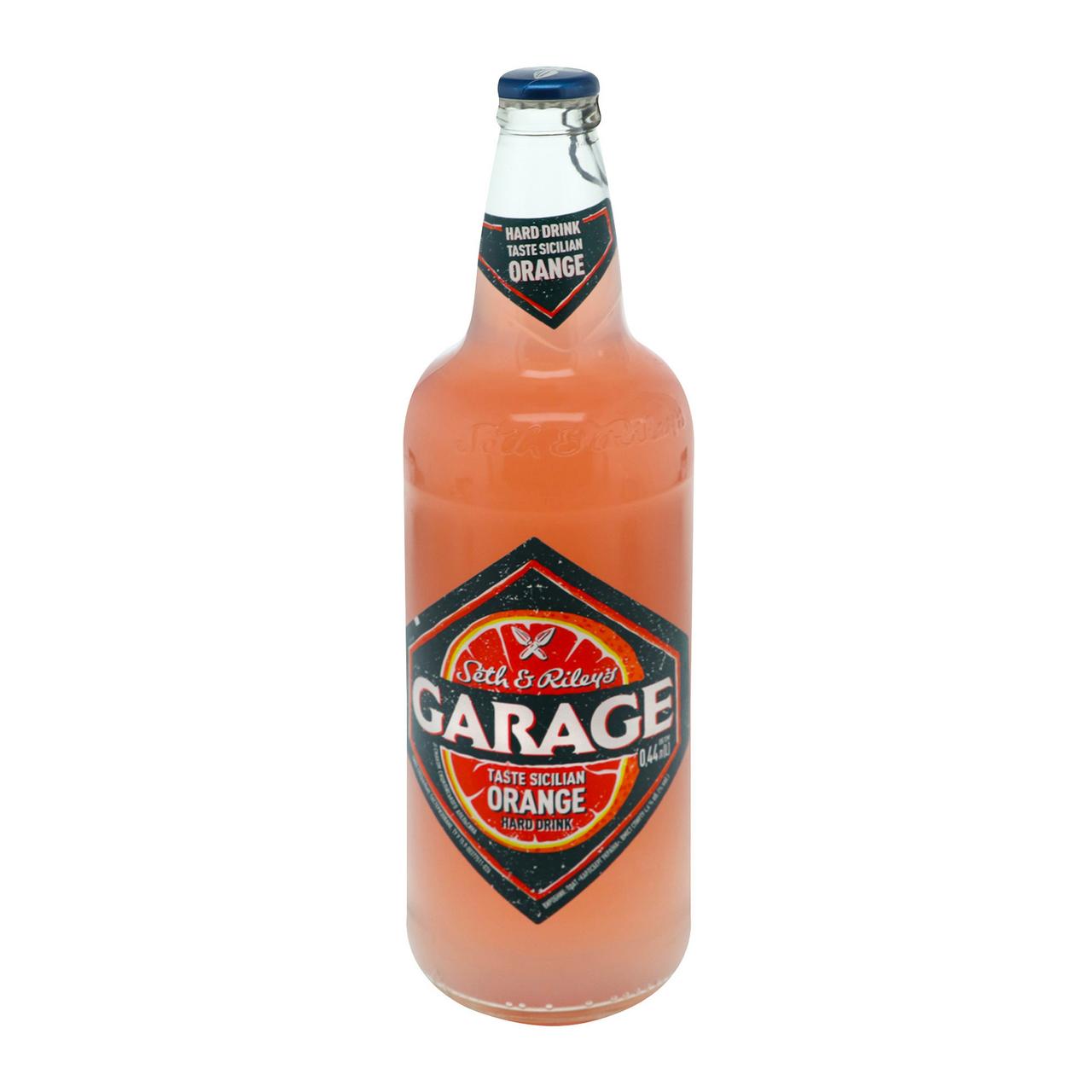 Пиво спеціальне Seth&Riley`s Garage Sicil orange 4.6% 0.44л