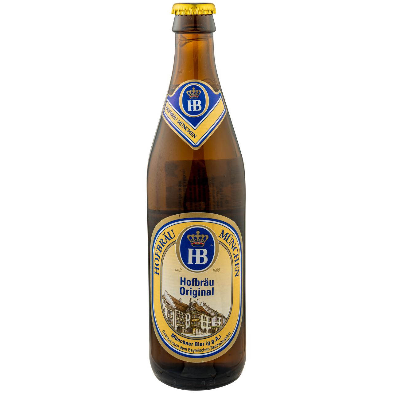Пиво Hofbrau Munchen Oktoberfest 6.3% 0,5л