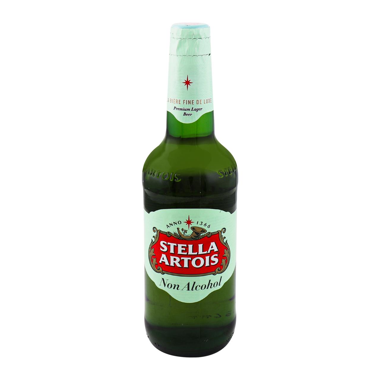 Пиво Stella Artois світле безалкогольне 0.5% 0.5л