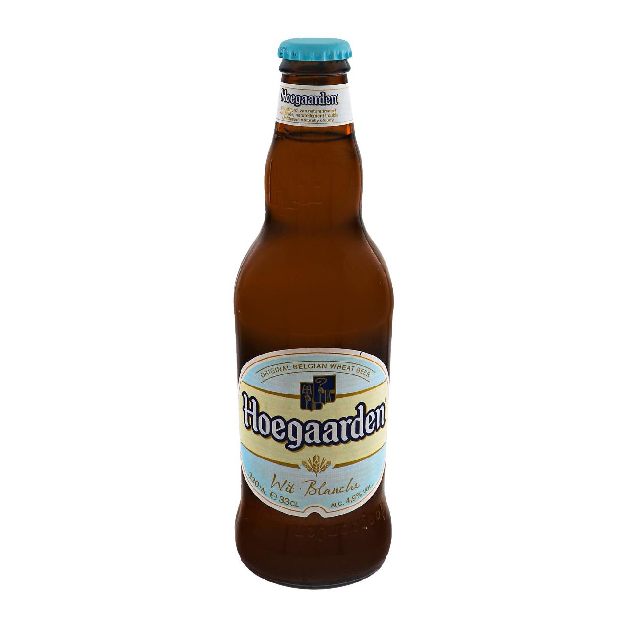 Пиво Hoegaarden Wit Blanche світле нефільтроване 4.9% 0.33л
