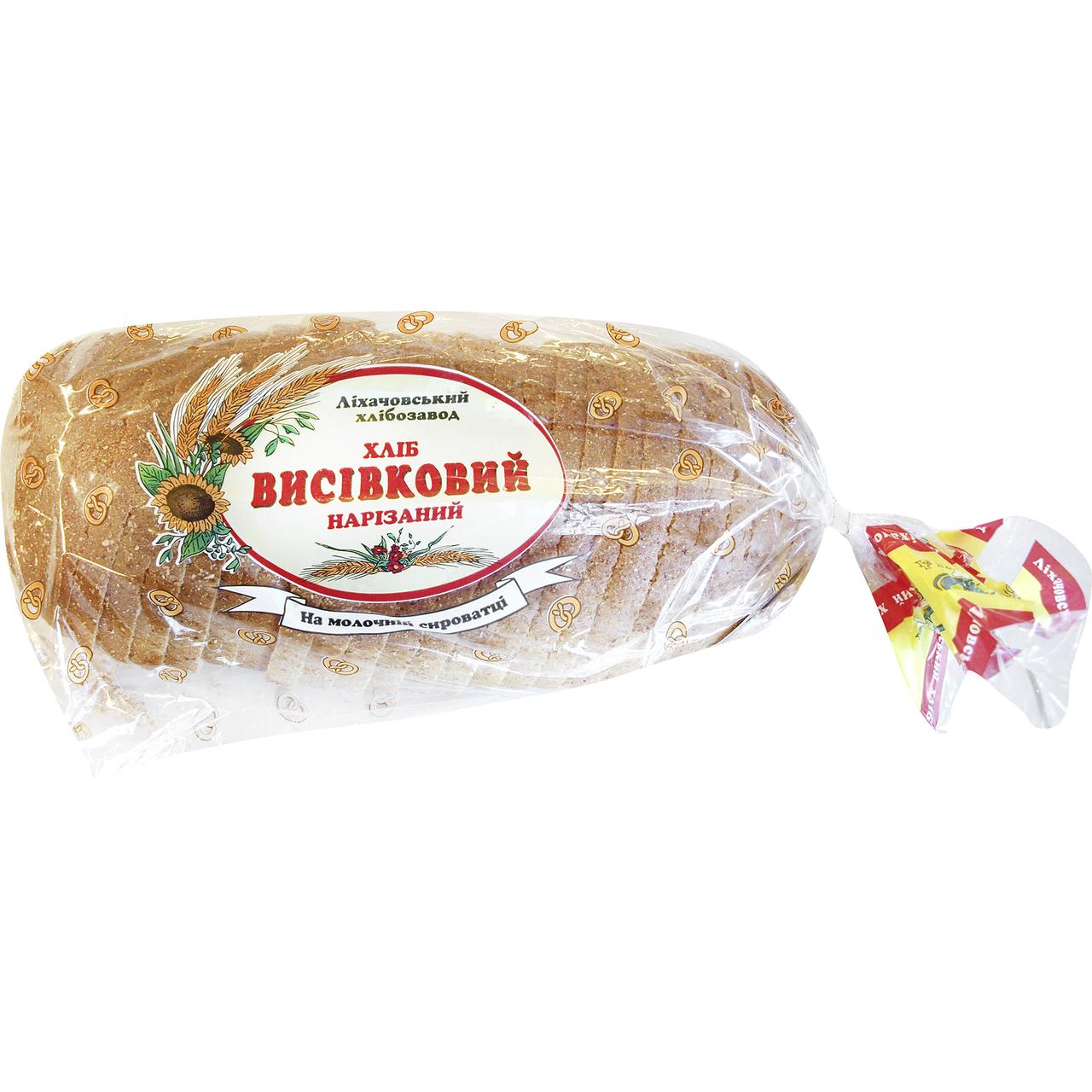 Хліб Рома Висівковий нарізаний 550г