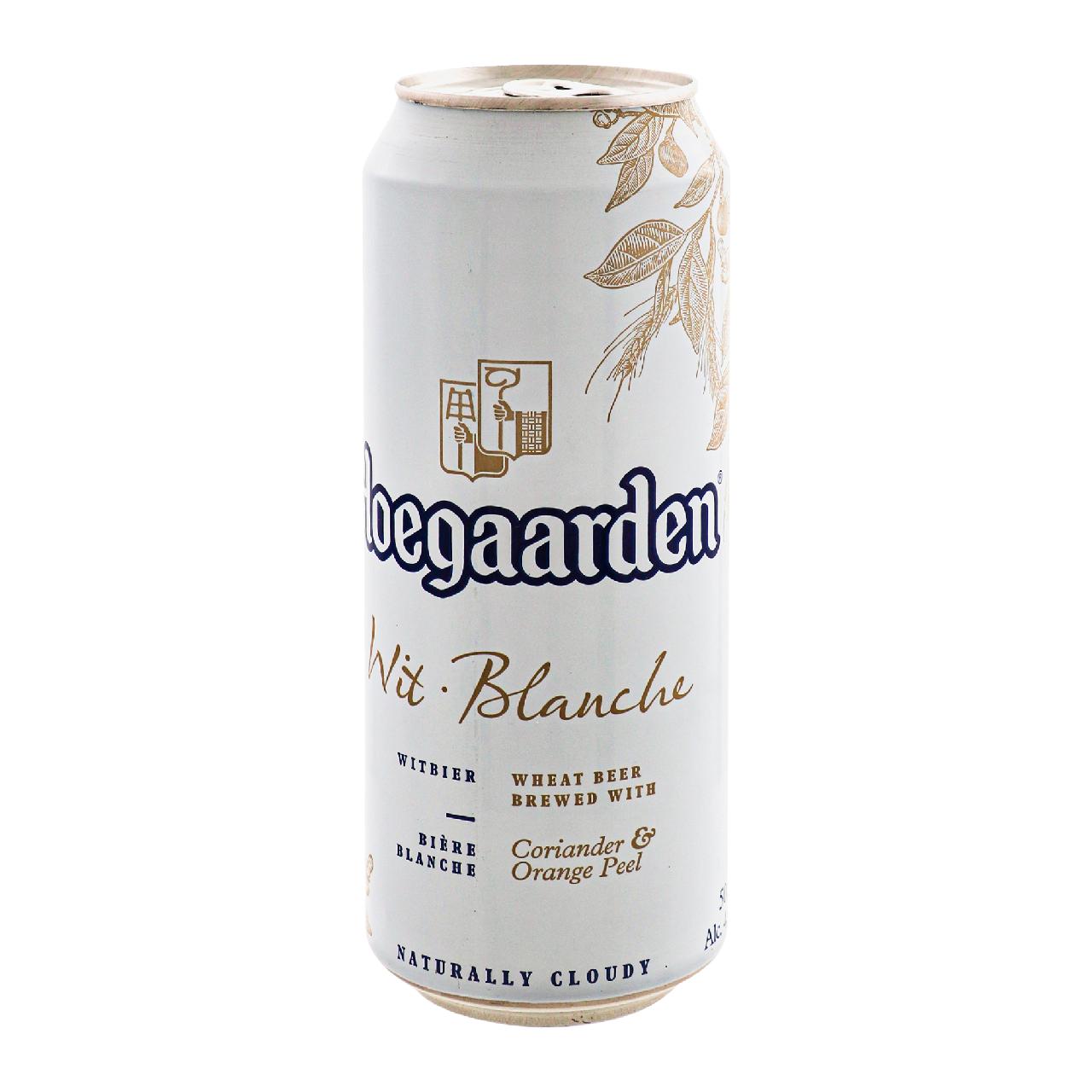 Пиво Hoegaarden Blanche світле пастеризоване 4.9% 0.5л