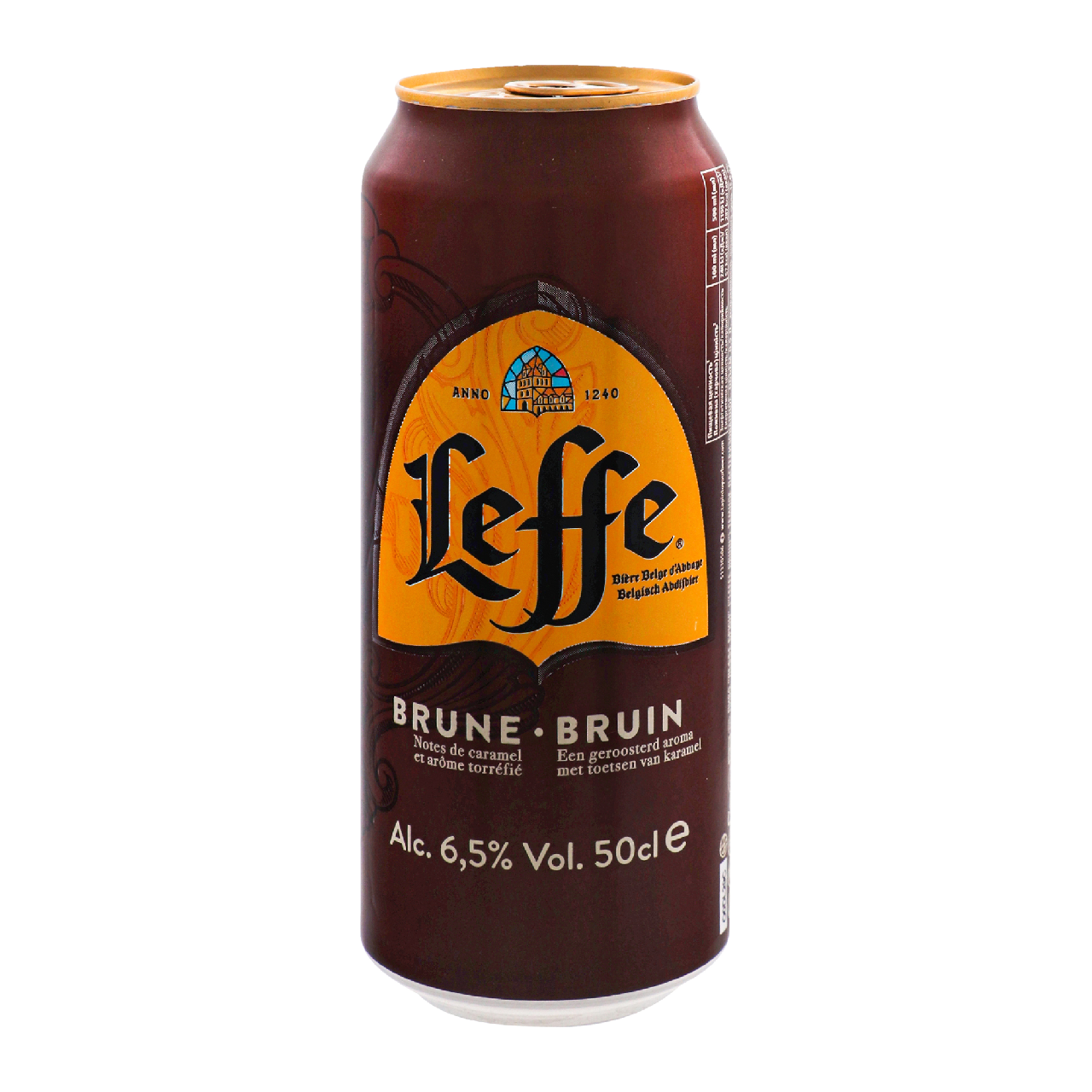 Пиво Leffe Bruin темне пастеризоване 6.5% 0.5л