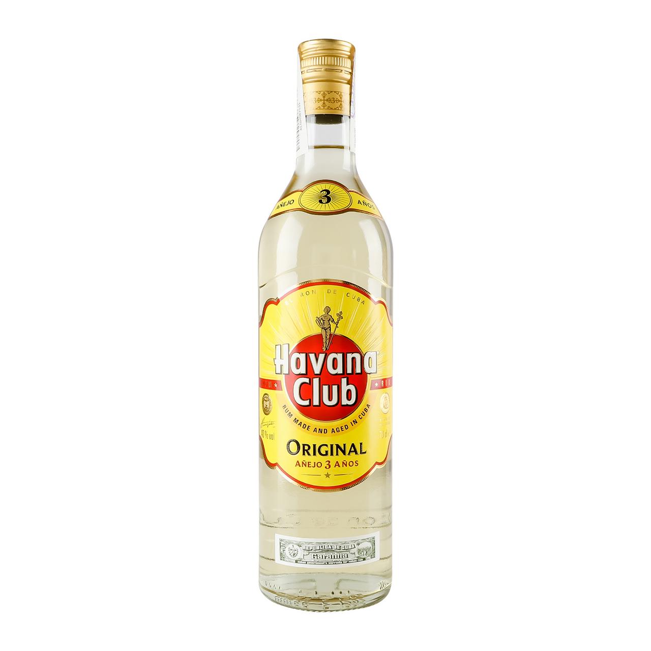 Ром Havana Club Anejo 3 yo 40% 0,7л