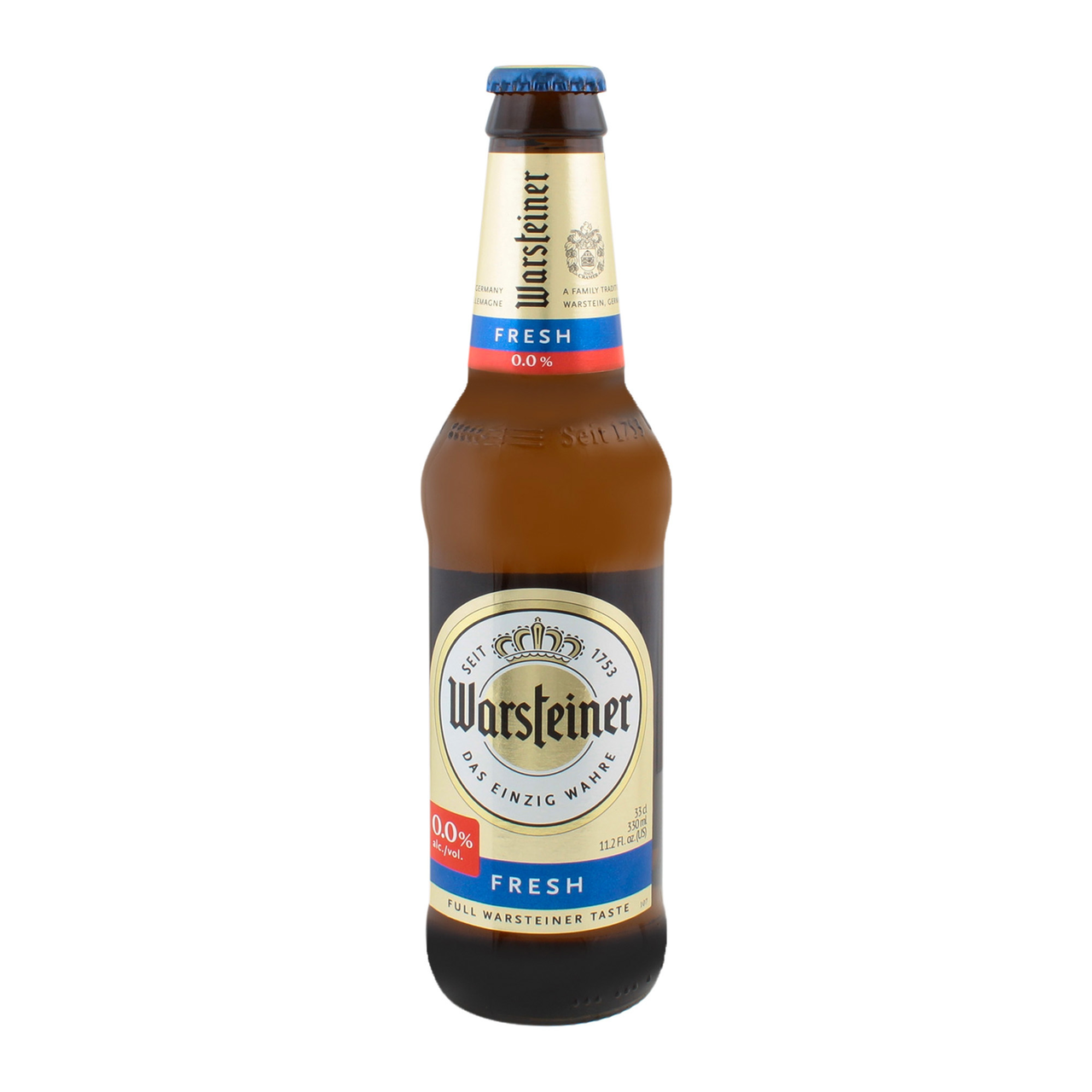 Пиво Warsteiner Fresh безалкогольне світле 0.05% 0.33л
