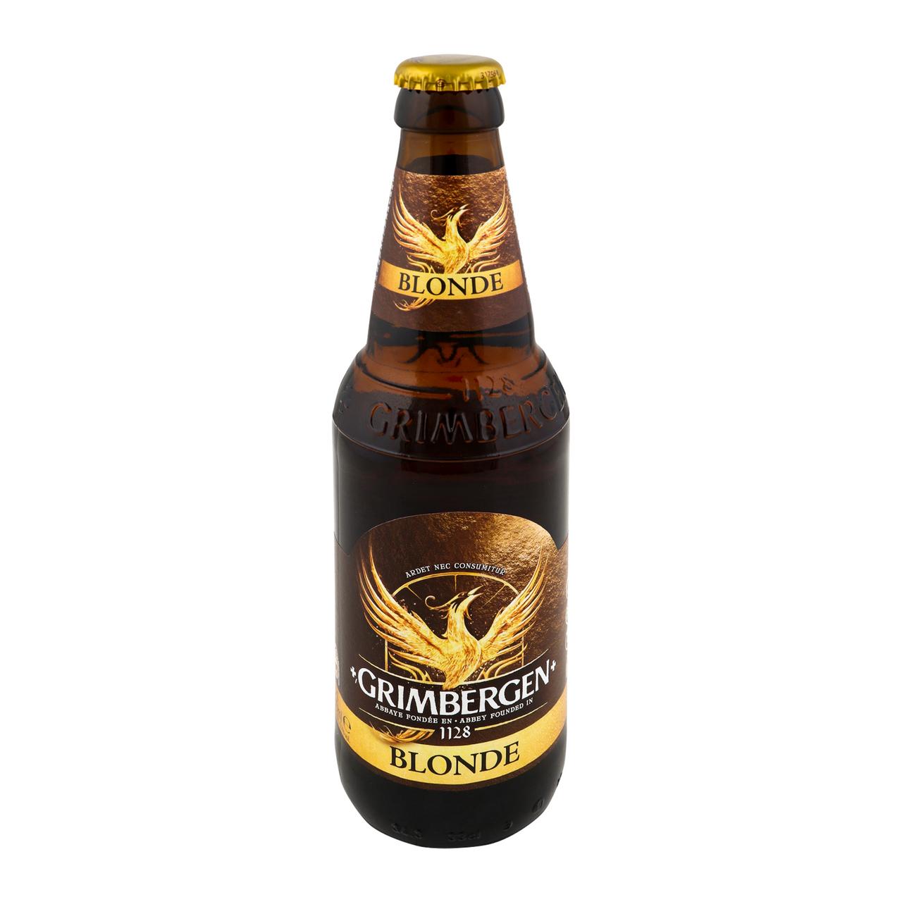 Пиво Grimbergen Blonde світле пастеризоване 6.7% 0.33л