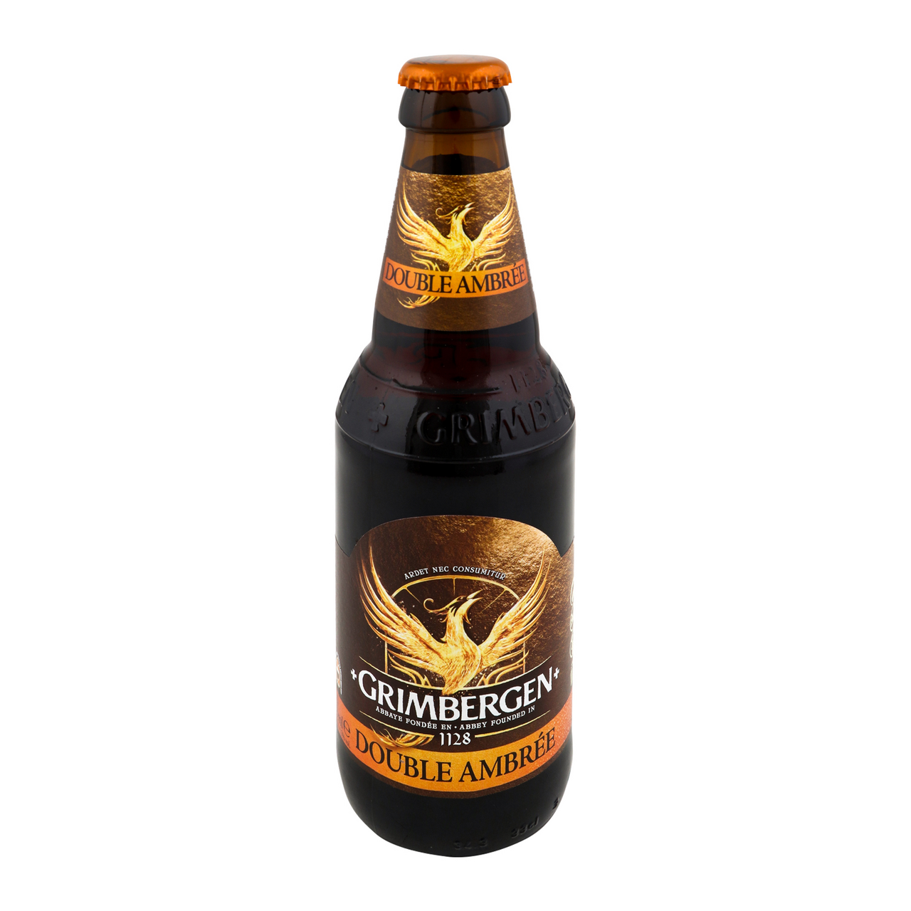 Пиво Grimbergen Double-Ambree напівтемне 6.5% 0.33л