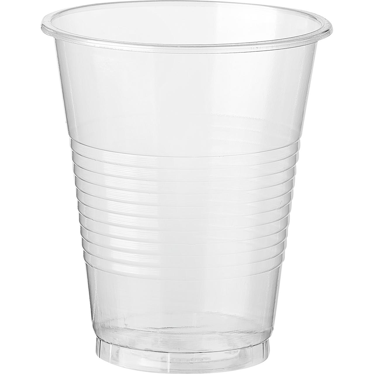 Стакан пластиковий Horeca Select білий 200мл 100шт