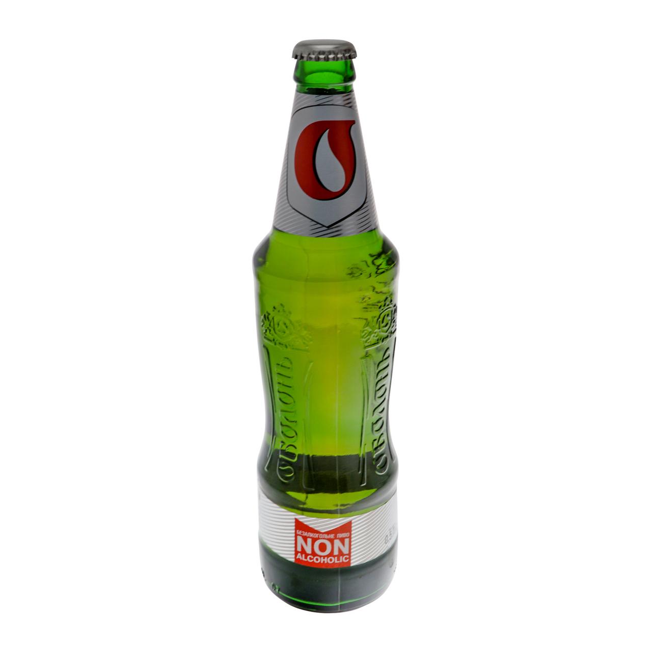 Пиво Оболонь Світле 0 безалкогольне 0.4% 0.5л