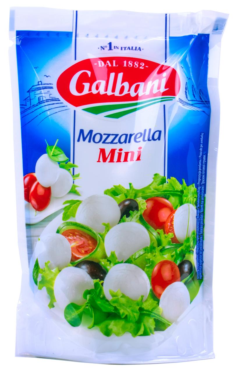 Сир Galbani Mozzarella mini свіжий 38% 285г