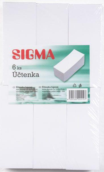 Uctenka Lepena Sigma 6ks Tiskopisy Papir Kancelar