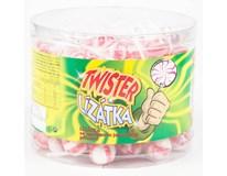 Twister lízátka smetanovo-jahodová 100x8g