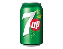7UP Limonáda s citronovo-limetovou příchutí 24x330ml plech