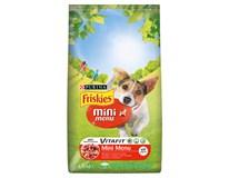 Purina Friskies Mini menu granule pro psy 1x1,5kg