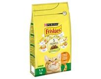 Purina Friskies Indoor granule pro kočky 1x1,5kg