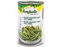 Bonduelle Fazolové lusky zelené sterilované 1x4kg