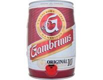 Gambrinus Original 10° pivo světlé 1x5L KEG