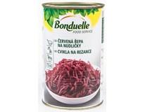 Bonduelle Řepa červená sterilovaná nudle 1x4kg