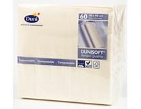 Duni Soft Ubrousky 40x40cm champagne 1x60ks