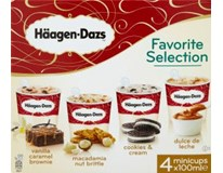 Häagen-Dazs Favorite Selection zmrzlina Minicups mraž. 4x100ml