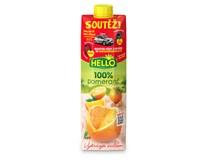 Hello Pomeranč 100% džus 12x1L