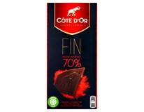 Cote D'Or Čokoláda hořká 70% 2x100g