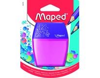 Ořezávátko Maped Shaker dvojité průhledné mix barev 1ks
