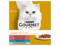 Purina Gourmet Gold Exotic kapsičky 8x85g