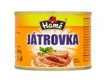 Hamé Játrová paštika 6x190g