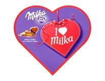 Milka I love Milka bonboniéra oříšek-nugát 1x165g
