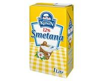 Kunín Smetana na vaření 12% trv. živoč. chlaz. 4x1L