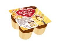 Zott Srdíčko puding vanilka chlaz. 4x125g