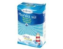 Solsanka mořská sůl s jódem 1x1kg