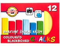 Křída školní barevná KOH-I-NOOR 1x12ks