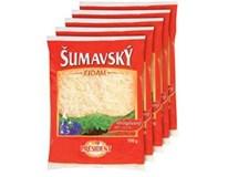 Šumavský eidam 30% sýr strouhaný chlaz. 5x100g