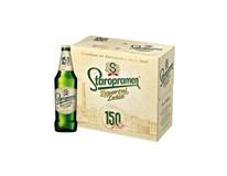 Staropramen světlý ležák pivo 8x500ml multipack vratná láhev