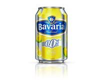 Bavaria Citron 0,0% nealkoholické pivo 6x330ml plech
