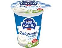 Kunín Smetana zakysaná 15% chlaz. 6x375g