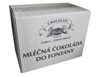 Carla Čokoláda do fontány mléčná 1x5kg