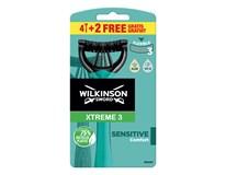Wilkinson Xtreme3 Sensitive holítka pán. 1x6ks
