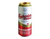 Budějovický Budvar světlý ležák pivo (9+3)/12x500ml plech