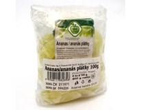 IBK Trade Ananas sušený plátky 5x100g fólie