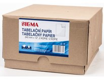 Papír tabel. Sigma 240mm 1+2 750 listů 1ks