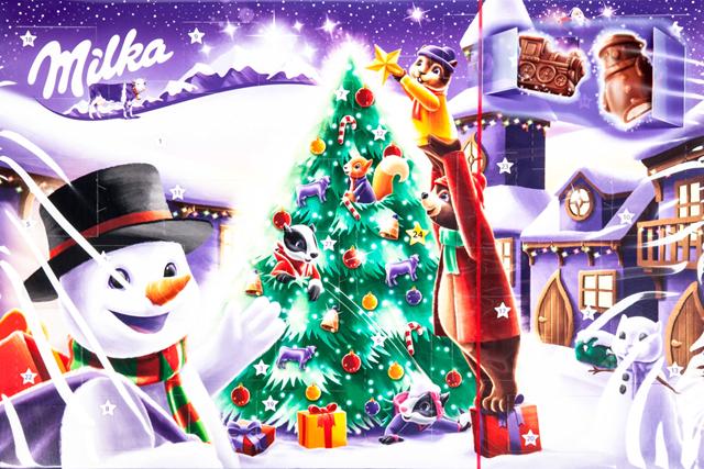 adventni kalendar milka Milka Adventní kalendář čokoládový 1x200g   Vánoce, Sezónní  adventni kalendar milka