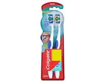 Colgate Deep Clean 360 Medium Zubní kartáček střední 1x(1+1ks)