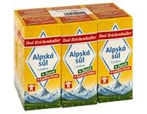 Bad Reichenhaller sůl alpská s jodem+fluoridem+kys.list. 6x500g