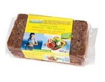 Chléb celozrnný 4-zrnný balený krájený 1x500g