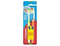 Colgate Extra Clean zubní kartáček střední 1x(1+1ks)
